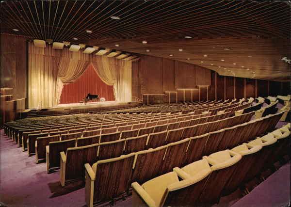 The Ambassador Auditorium Interior Pasadena CA