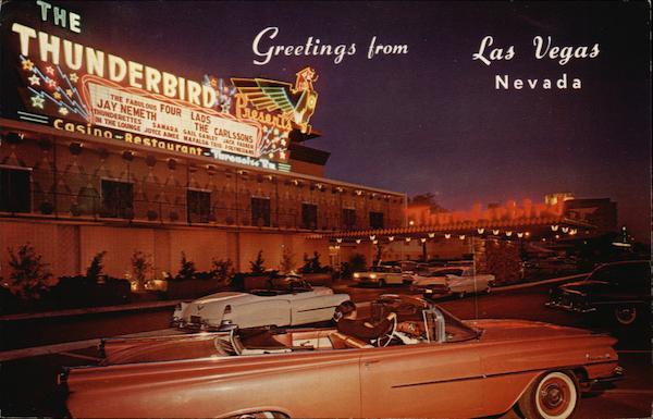 Thunderbird Hotel Las Vegas NV