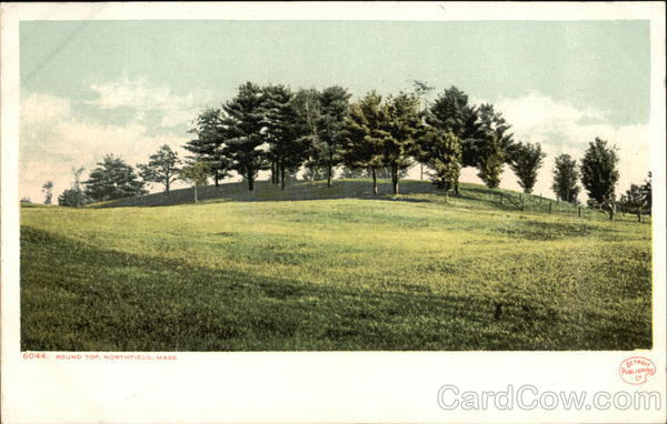 Round Top Postcard