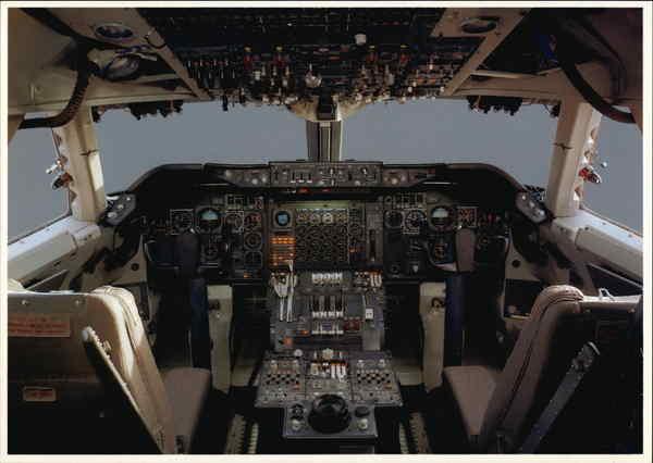 Lufthansa Boeing 747 200 Cockpit Aircraft