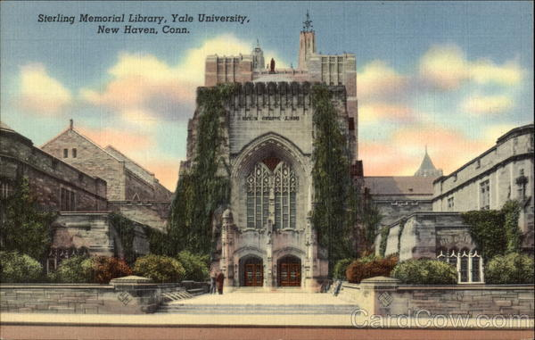 Sterling Memorial Library Yale University New Haven CT