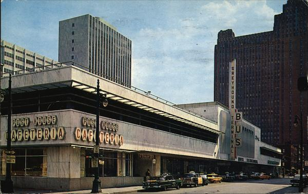 Greyhound Bus Terminal Detroit MI