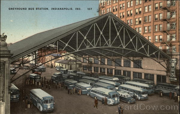 Greyhound Bus Station Indianapolis IN