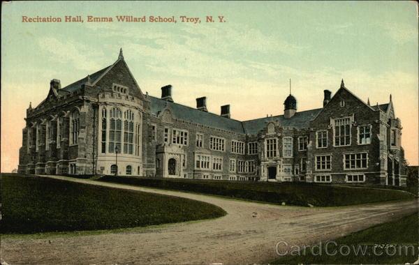 Recitation Hall At Emma Willard School Troy NY