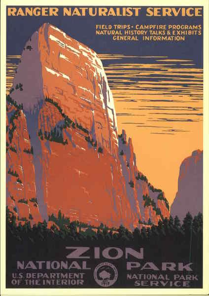 Zion National Park Ranger Naturalist Service US
