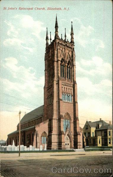 St Johns Episcopal Church Elizabeth NJ