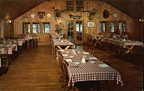 Little Bohemia Lodge a View of our Main Dining Room