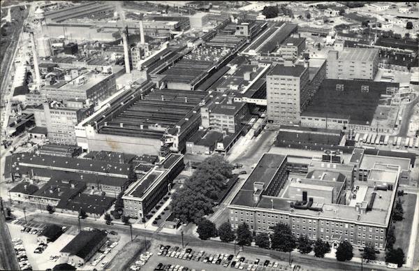 Armstrong Floor Plant Lancaster PA Postcard