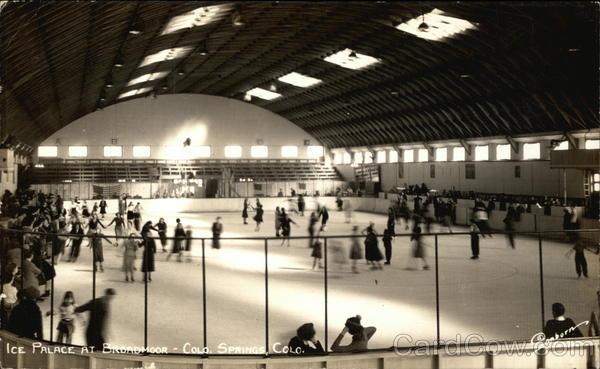 Ice Skating Ice Palace At Broadmoor Colorado Springs CO