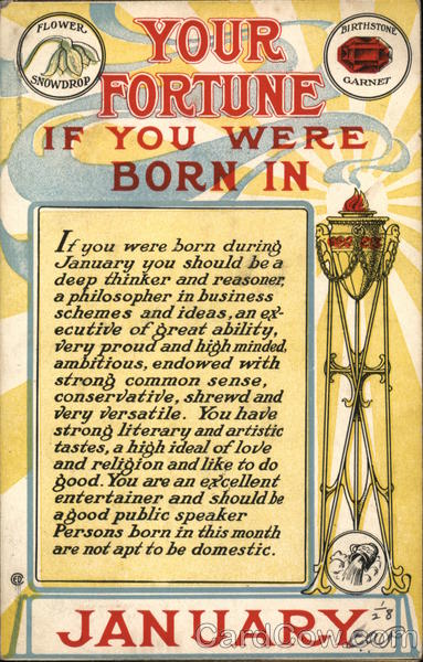 Your Fortune If You Were Born In January Astrology & Zodiac