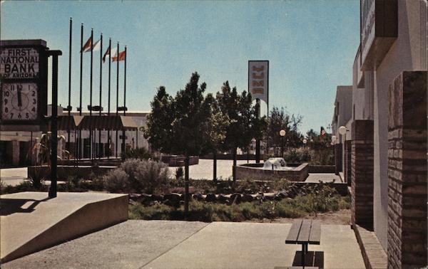 Downtown Mall Main Street Near Prison Yuma AZ Postcard