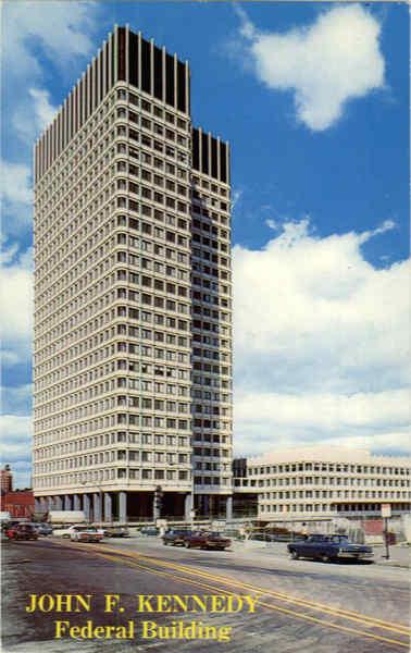 John F Kennedy Federal Building Government Center Boston MA
