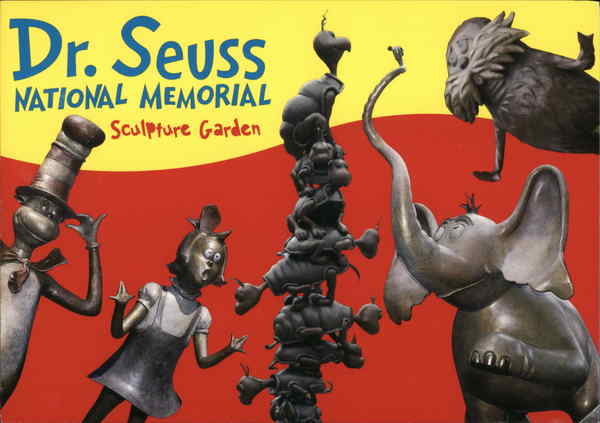 Dr Seuss National Memorial Sculpture Garden Springfield