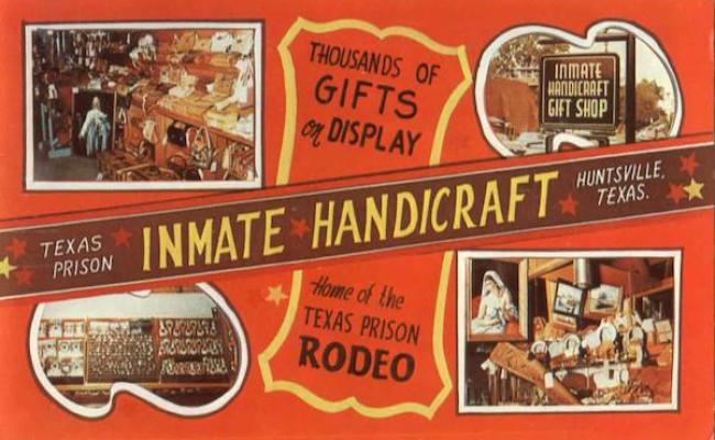 Texas Prison Inmate Handicraft Huntsville Tx