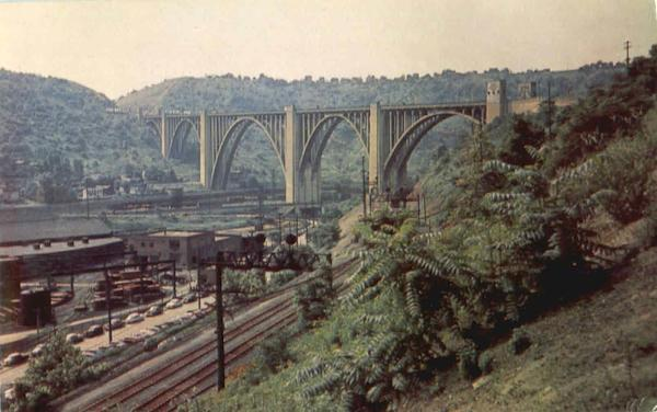 The Westinghouse Bridge Route 30 Pittsburgh PA
