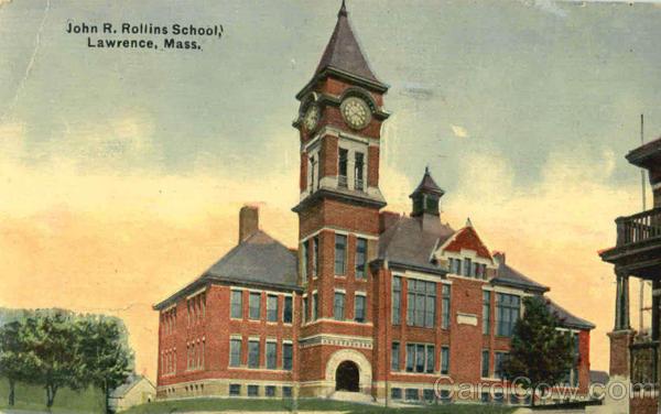John R Rollins School Lawrence MA