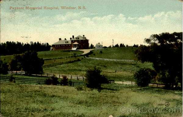 Payzant Memorial Hospital Windsor NS Canada Nova Scotia