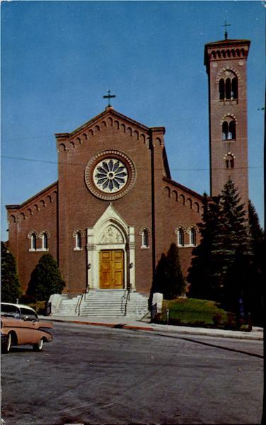 St Patricks Roman Catholic Church Church And Cross
