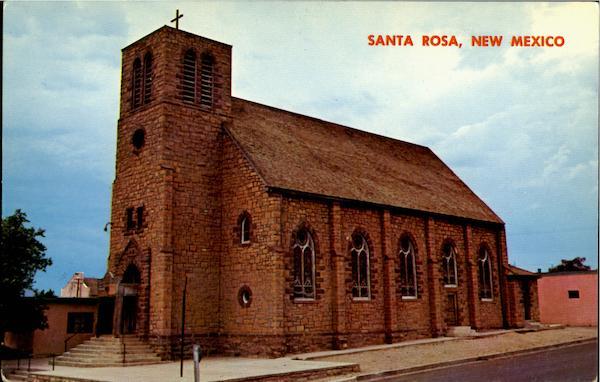 St Rose Of Lima Church Santa Rosa NM