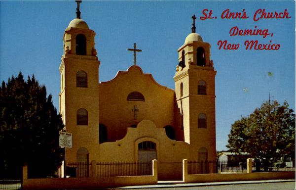 Saint AnnS Catholic Church Deming NM