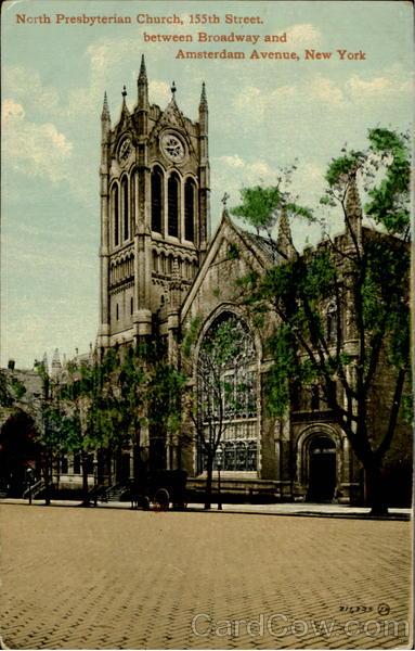 North Presbyterian Church 155th Street Between Broadway And Amsterdam Avenue New York City NY