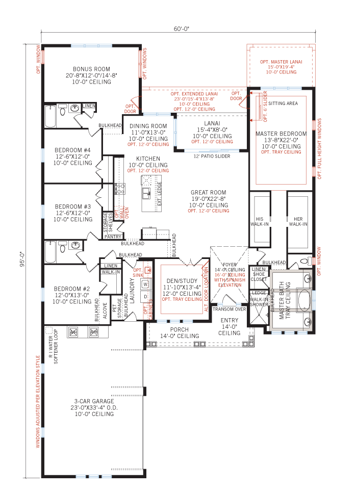 New home model Galante in Bexley, Tampa by Cardel Homes