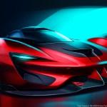 SRT Tomahawk Vision Gran Turismo Concept Sketch