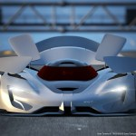 There are nine active aerodynamic panels, including an underbody