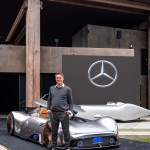Mercedes Benz Showcar Vision EQ Silver Arrow, 2018