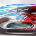 Mercedes-Benz Vans Vision URBANETIC DesignskizzeMercedes-Benz Vans Vision URBANETIC Design Sketch