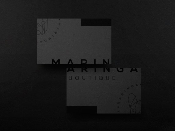 Maringa Boutique business card