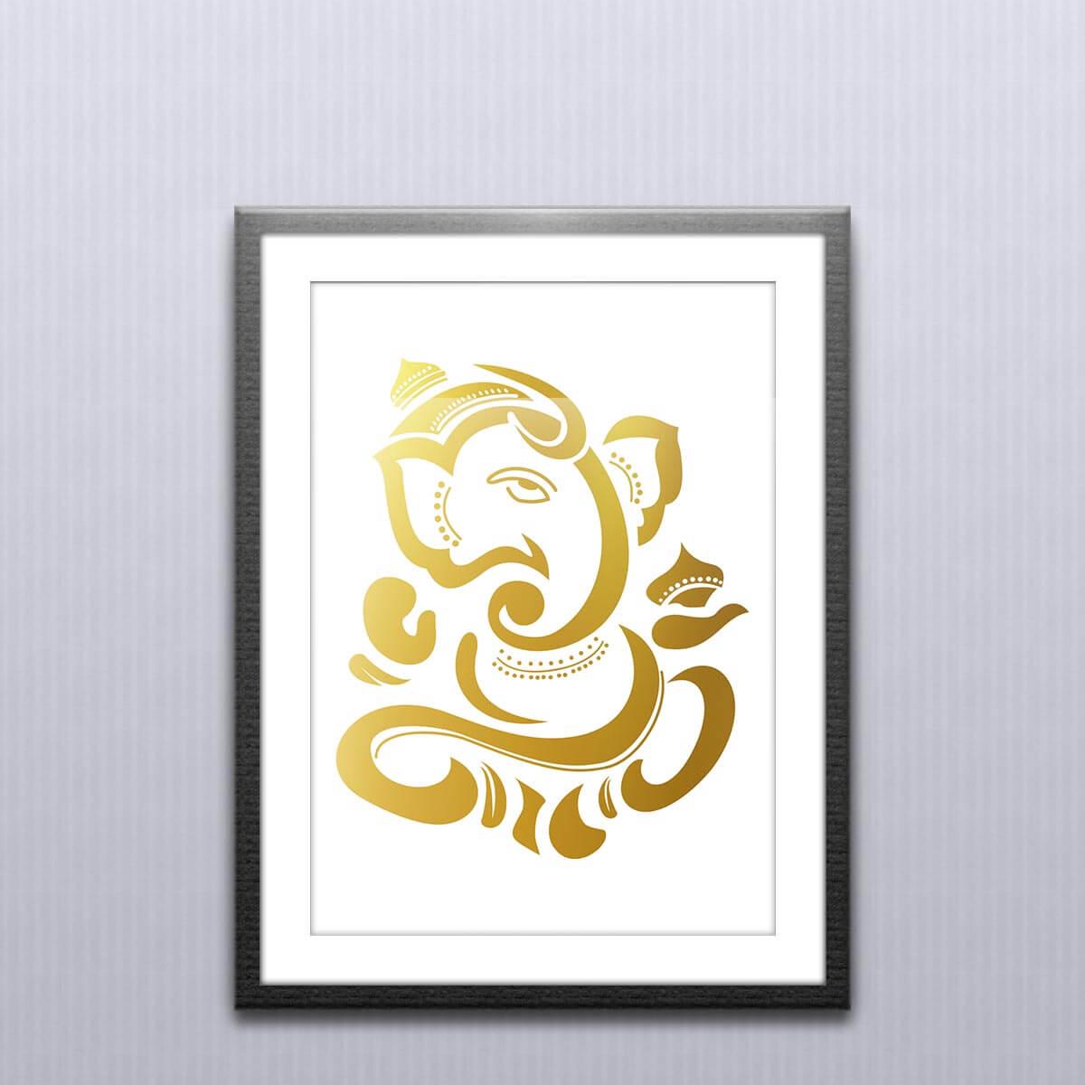 Ganesh Wall Art and Ganesh Posters