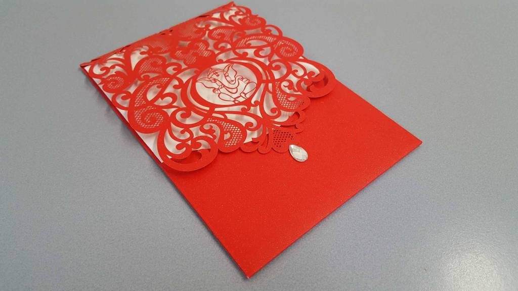 Laser Cut Wedding Invites CardFusion