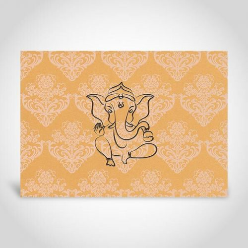 Indian Wedding Cards with Ganesh CardFusion