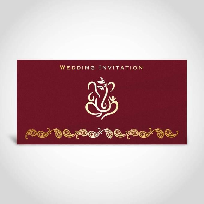 Hindu Wedding Card – CFK203