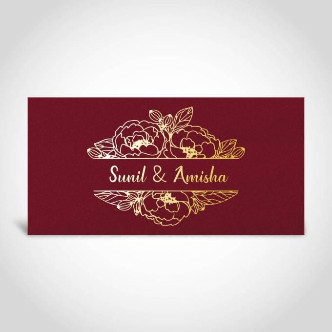 Indian Wedding Card – CFK249