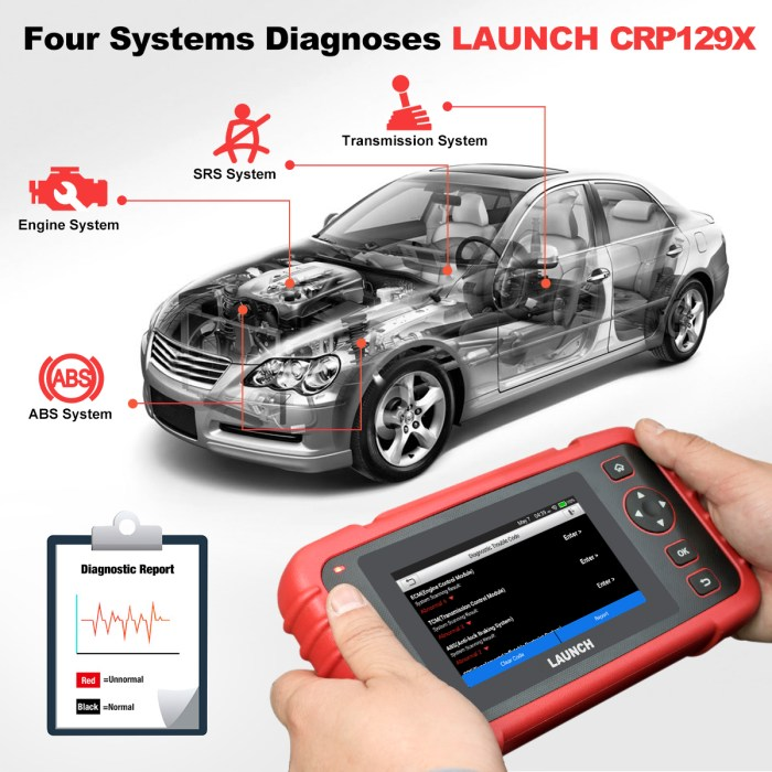 LAUNCH CRP129X OBDII DIAGNOSTIC TOOL 1