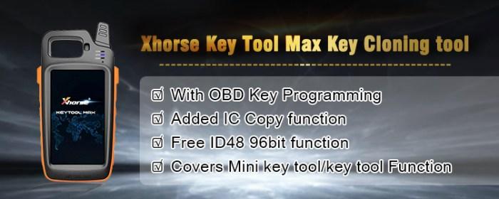 XHORSE VVDI KEY TOOL MAX cloning tool