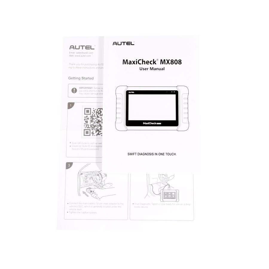 Original Autel MaxiCheck MX808 All System Diagnostic