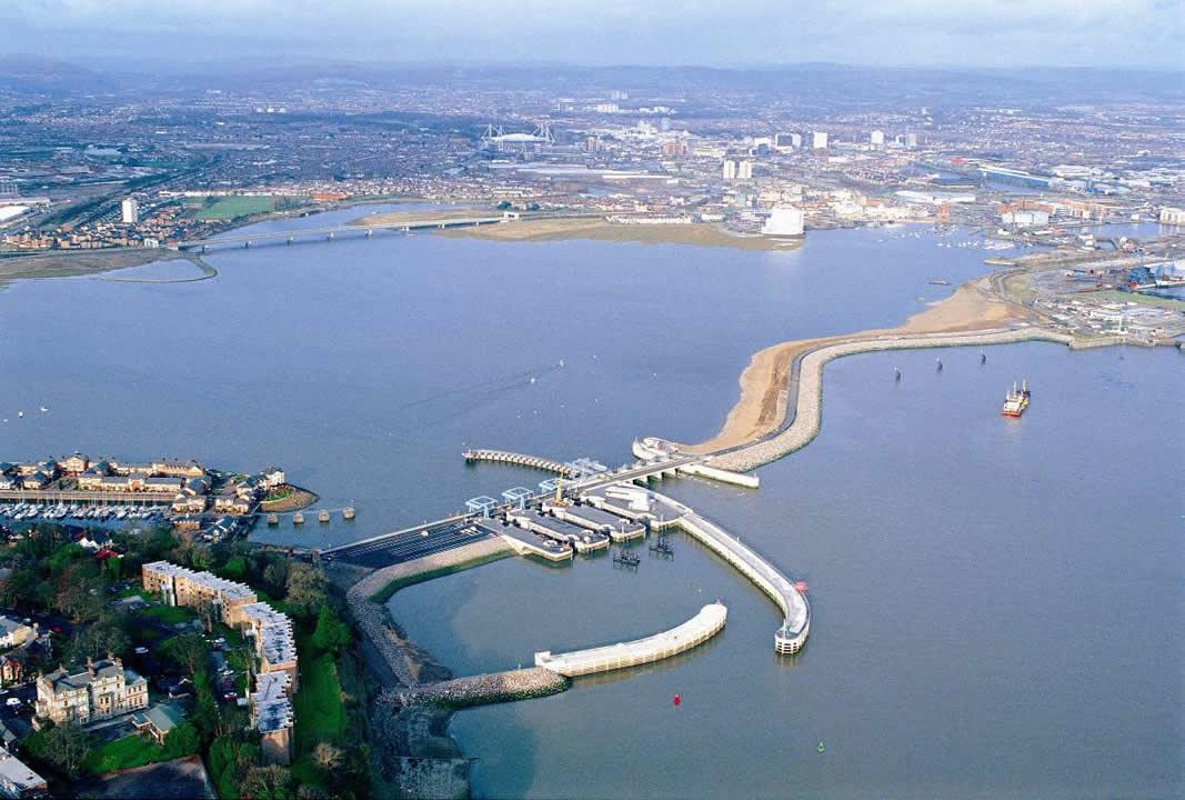 Cardiff Bay Barrage Car Park Penarth