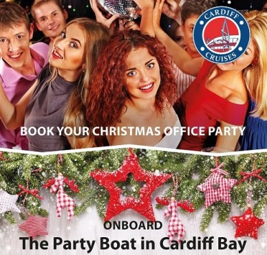 Cardiff Cruises Christmas Parties Poster lo res 2