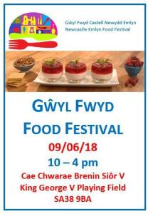 Newcastle Emlyn Food Festival 2018