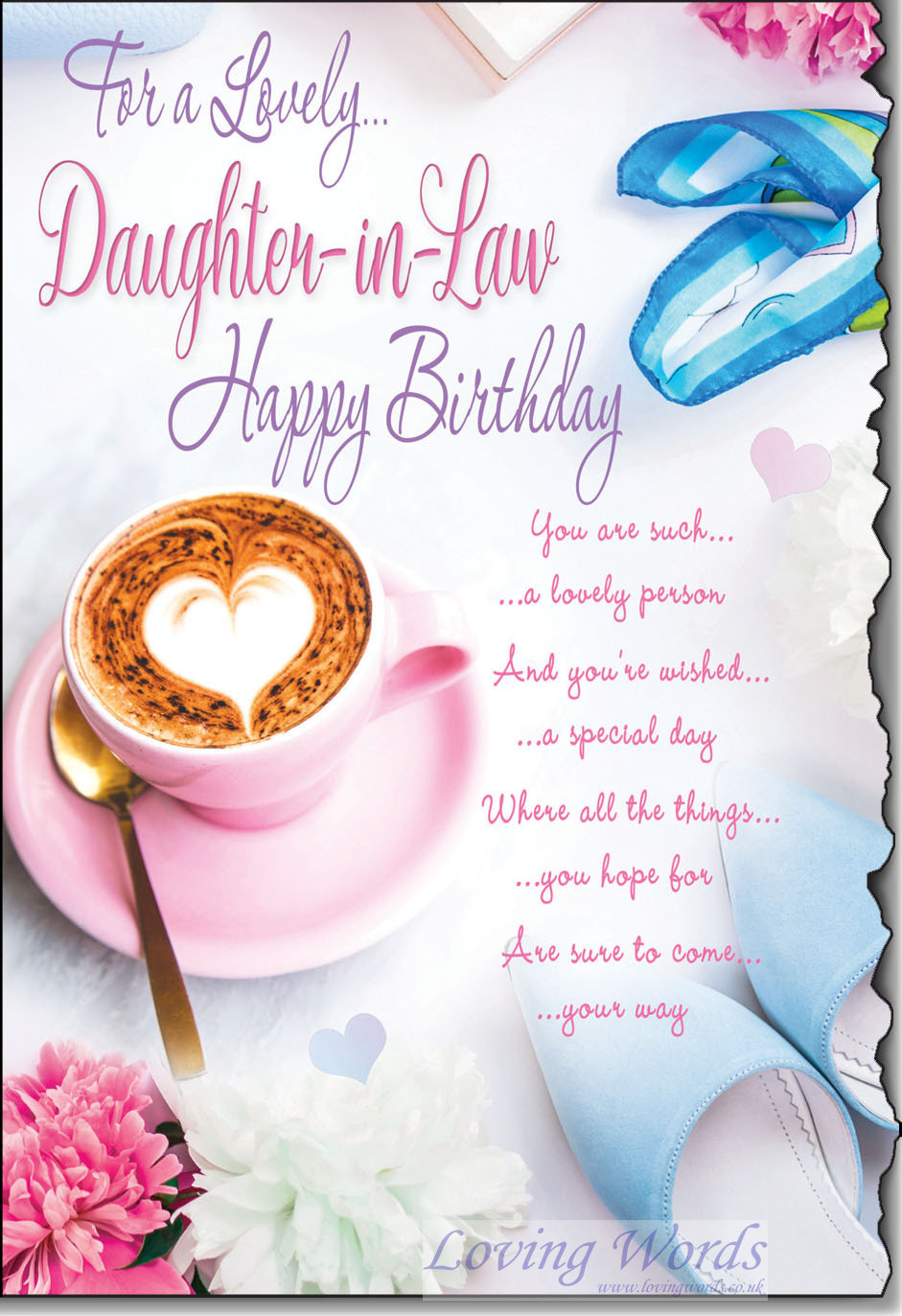 Daughter In Law Birthday Greeting Cards By Loving Words