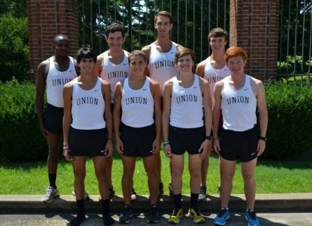 Men's cross country team