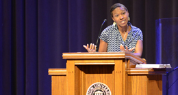 Newbell Speaks in Chapel