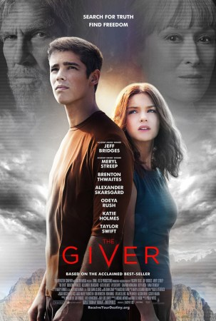 The Giver is in theatres now