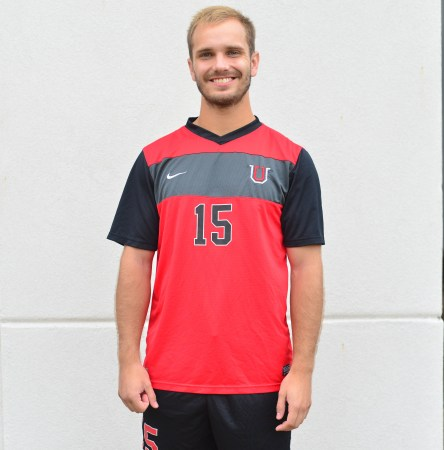 Trey Scogin, senior exercise science major, is a member of the university's soccer team.