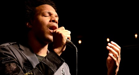 The late Will Gray, 2002 Union alumnus, performs at a concert at Barefoots Joe on February 18, 2011. |