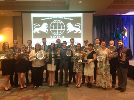 Union's debate team finished strong at nationals in Boise, Idaho March 27 | Submitted Photo