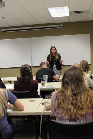 The Grad School Prep series began Tuesday, September 29 | Photo by Solbee Park